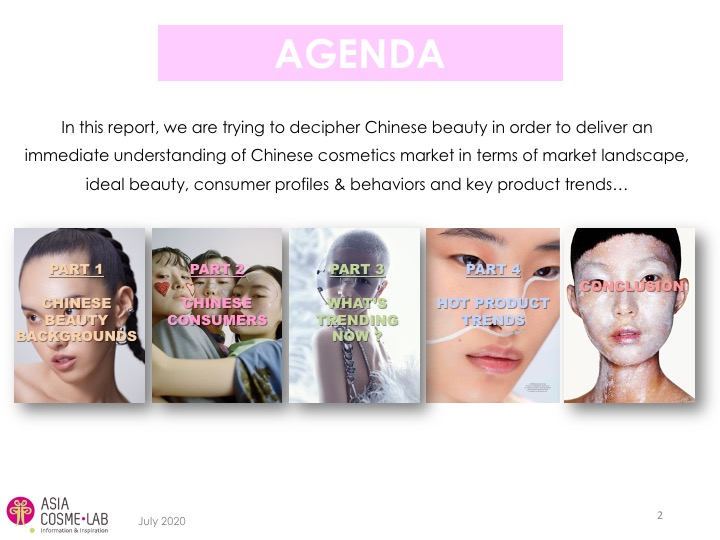 Asia Cosme Lab C beauty digest report agenda