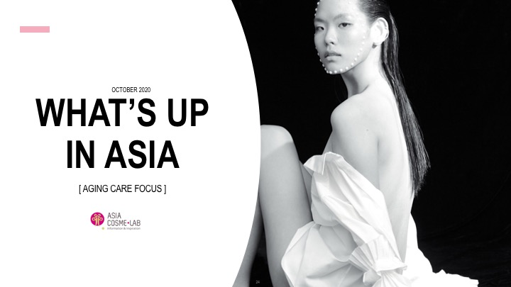 Asia Cosme Lab Aging care report cover
