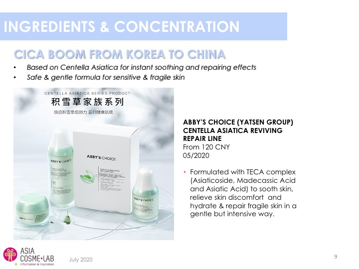 Asia Cosme Lab C beauty digest extract 7