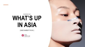 WHAT'S UP IN ASIA - AW 2020 BASE MAKE - cover