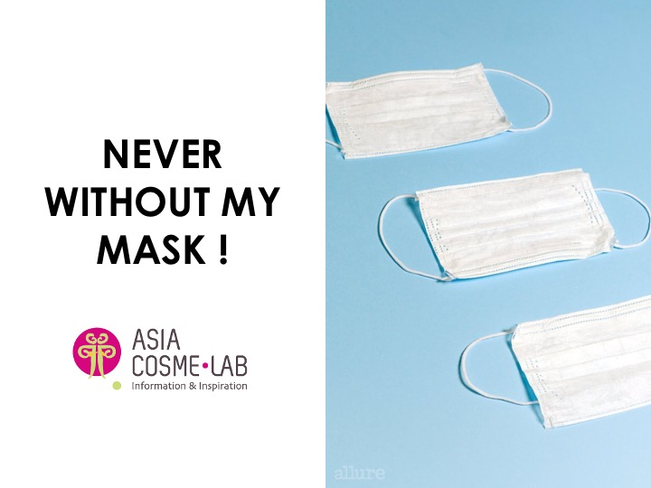 Asia Cosme Lab Never without my mask Trend report cover