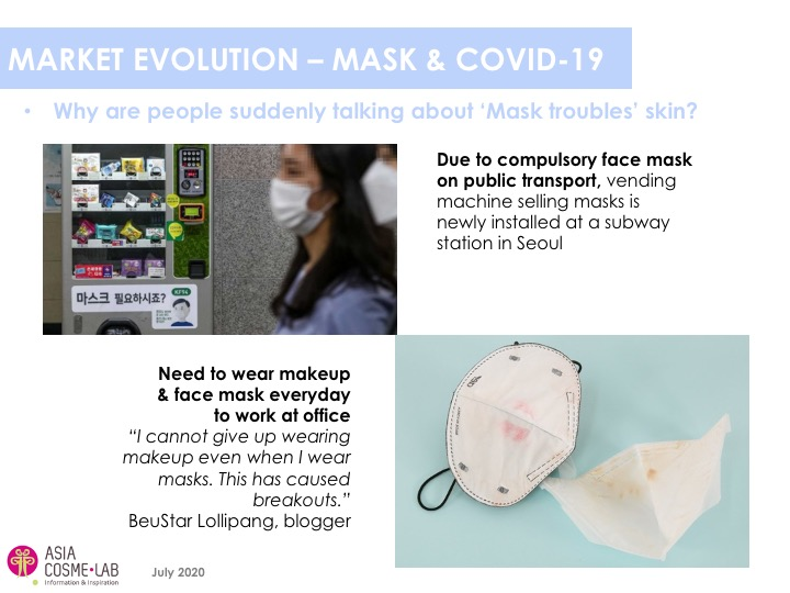 Asia Cosme Lab Never without my mask Trend report extract 5