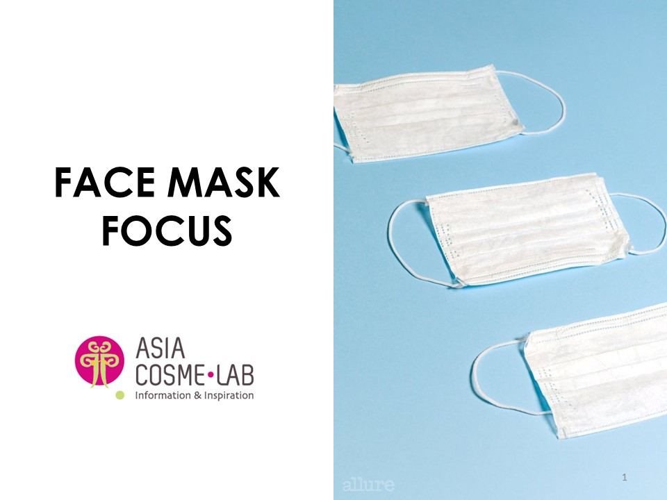 Asia Cosme Lab Face mask focus report cover