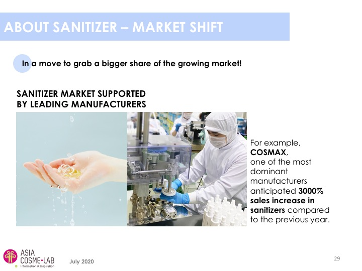 Asia Cosme Lab Hand sanitizers report extract 3