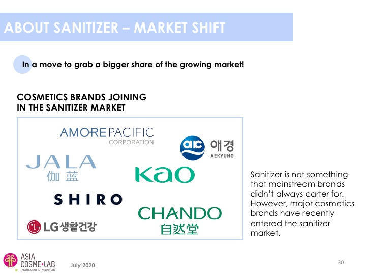 Asia Cosme Lab Hand sanitizers report extract 4