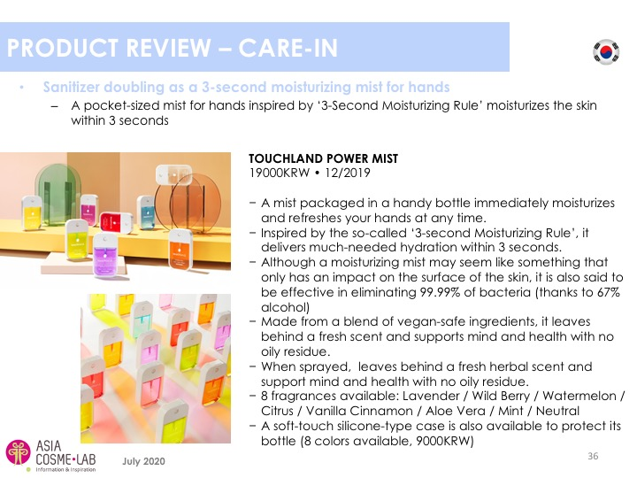 Asia Cosme Lab Hand sanitizers report extract 10