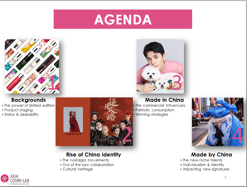 Asia Cosme Lab Chinese Artistry trend report agenda