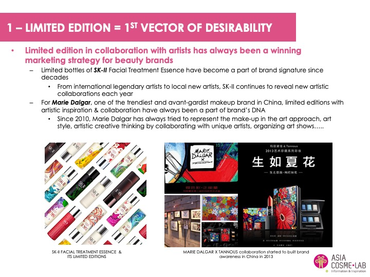 Asia Cosme Lab Chinese Artistry trend report extract 2