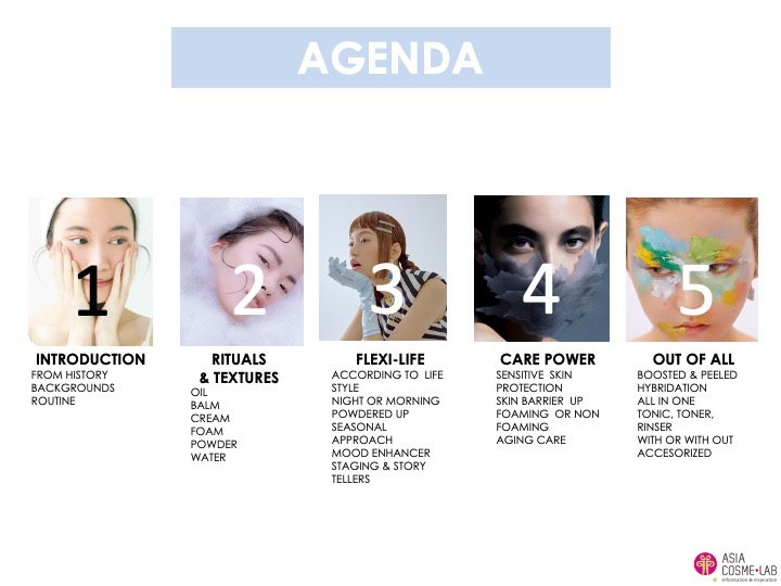 Asia Cosme Lab Cleansing luxury moment trend report agenda