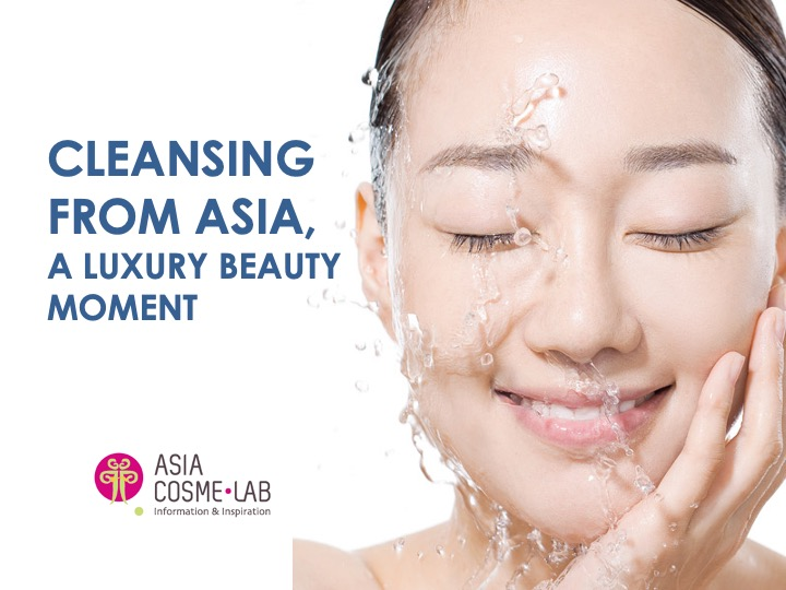Asia Cosme Lab Cleansing luxury moment trend report cover
