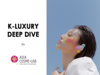 Asia Cosme Lab K Luxury trend report cover