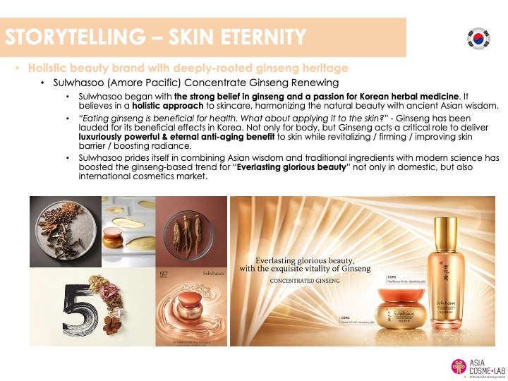 Asia Cosme Lab Luxury n skincare trend report extract 2
