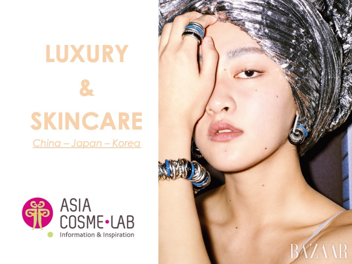 Asia Cosme Lab Luxury n skincare trend report cover