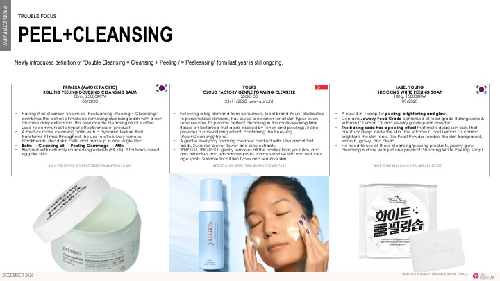 Asia Cosme Lab Cleansing Focus report slide 2